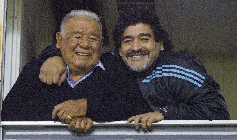 """Muere """"Don Diego"""", el papá de Maradona"""