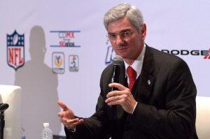 Arturo Olivé, director general de la NFL México. Foto: Notimex