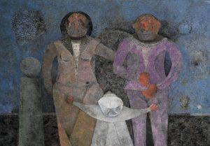 """""""La familia"""", de Rufino Tamayo, es una de las piezas destacadas del artista oaxaqueño. Foto: Notimex"""