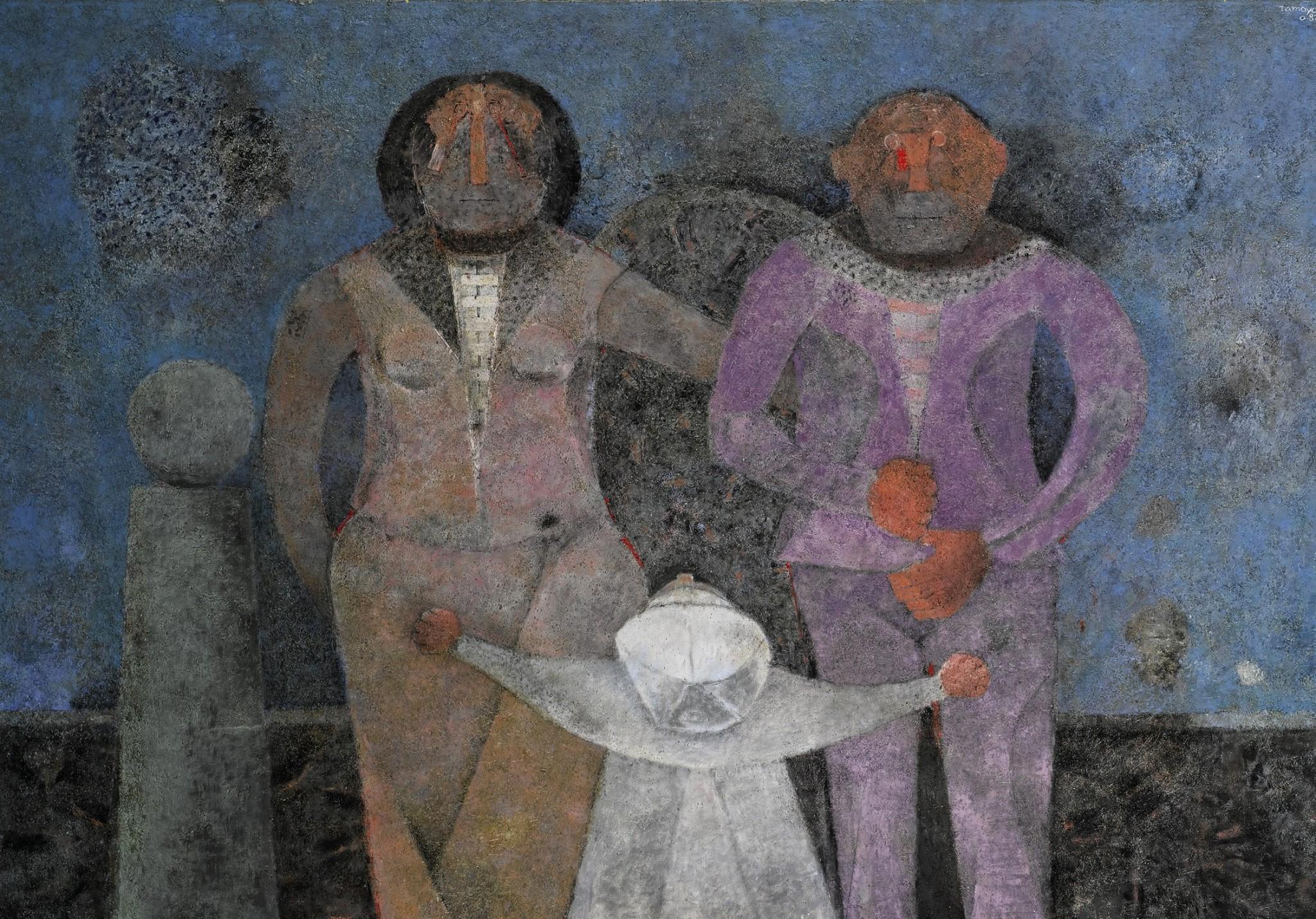 Prol fico fue el pintor mexicano rufino tamayo mixed voces - Donde estudiar pintura ...