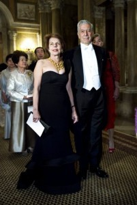 Mario Vargas Llosa, Patricia Llosa