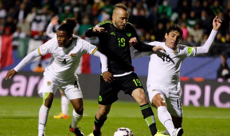México empata con Bolivia en debut en Copa América