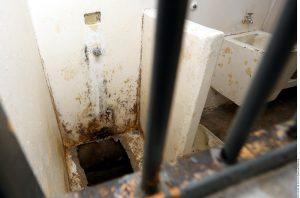 """""""El Chapo"""" Guzmán escapó por medio de un túnel. Foto: Agencia Reforma"""