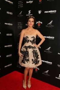 Claudia dejó en el camino a actrices como Ariadne Díaz, Adriana Louvier y Danna García. Foto: Notimex