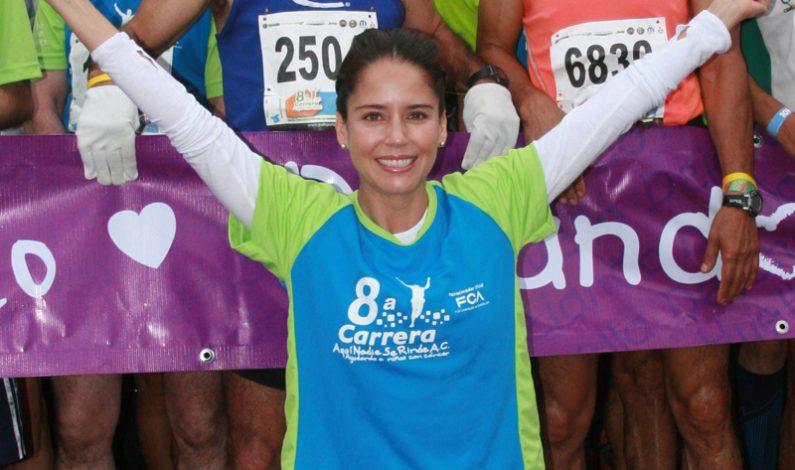 Ana Claudia Talancón no se rinde en ayudar a niños con cáncer