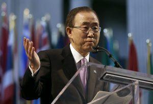 Ban Ki-moon, secretario general de la ONU. Foto: AP