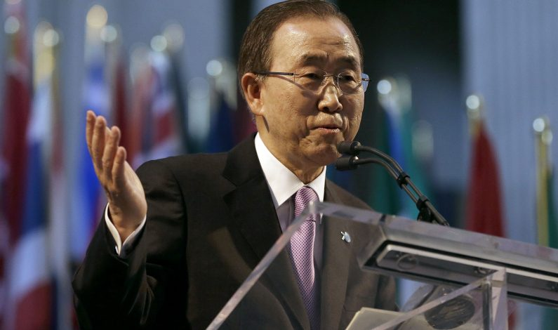 Ban Ki-moon anuncia negociaciones para un cese al fuego en Siria