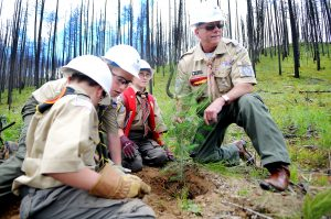 El programa Scouting se ha extendido a través de los años ofreciendo continuamente actividades y programas para sus miembros. Foto: AP