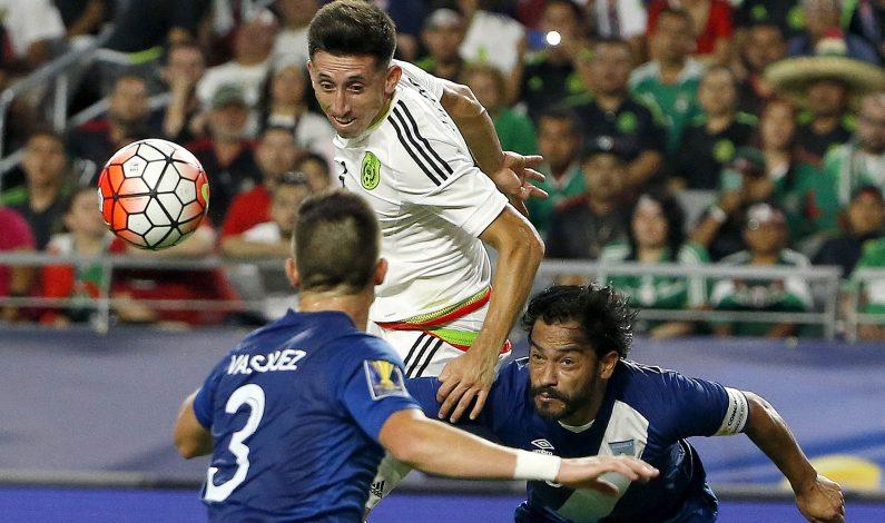 México y Guatemala empatan a cero en Glendale