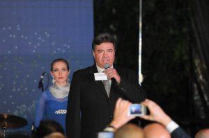 El tenor José Luis Duval interpretó el Himno Nacional de México. Foto: Mixed Voces
