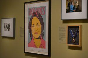 """La muestra presenta con profundidad la labor """"multifacética"""" de la activista durante los años 1950 y 1960. Foto: Notimex"""