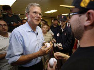 Jeb Bush, exgobernador de Florida y aspirante a la candidatura republicana a la presidencia. Foto: AP