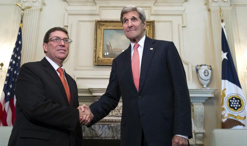 Kerry reabrirá embajada de EU en Cuba el 14 de agosto