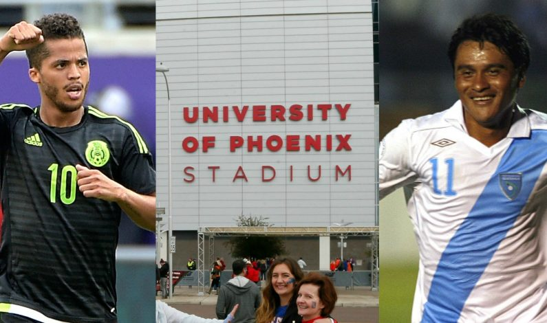 Phoenix espera al 'Tri' contra Guatemala