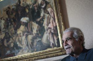 A lo largo de su carrera Sharif  fue nominado a un Oscar y ganó tres Globos de Oro, dos en 1963 y uno en 1966. Foto: AP