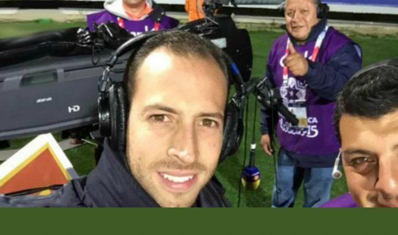 Cristalazo a staff de Televisa en Copa de Oro