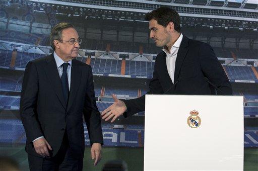 Real Madrid despide oficialmente a Iker Casillas