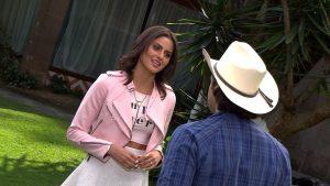 Rocío (Sacarlet Dergal) dejará su estilo darketa y cambiará totalmente su vida. Foto: Cortesía de Televisa