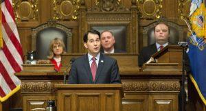 El 2 de julio del 2015 sus asistentes dijeron que Walker formalizará su aspiración a la candidatura presidencial republicana. Foto: AP