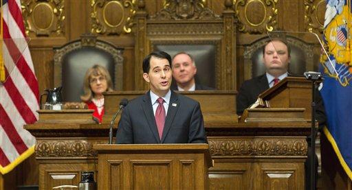 Gobernador de Wisconsin quiere ser presidente