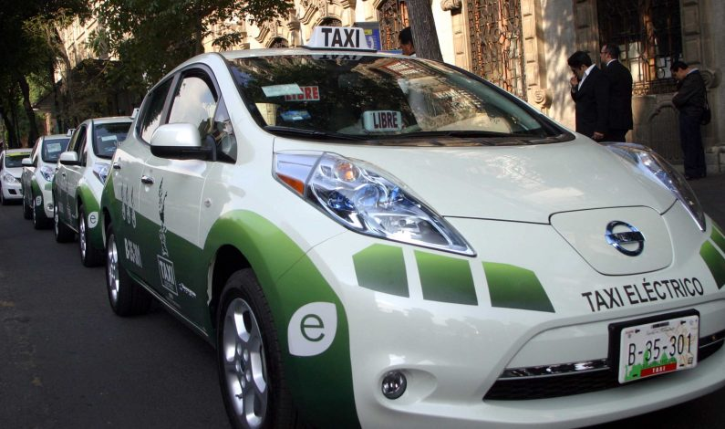 Taxis Cero Emisiones llegarán al DF