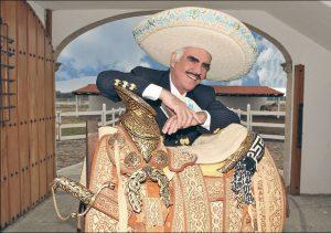 Vicente platicó con su público. Foto: Sony Music.