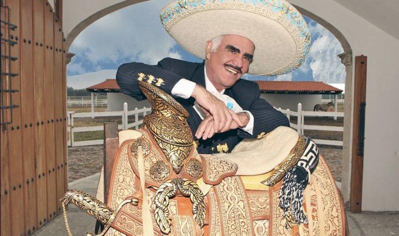 Vicente Fernández confirma su despedida en el Azteca