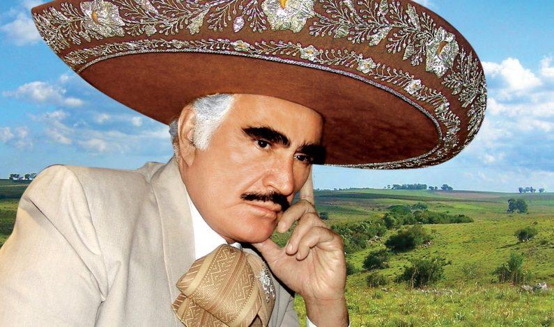 """Vicente Fernández estrena """"No Vuelvas por Favor"""""""