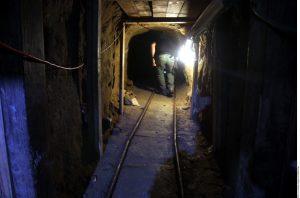 El pasadizo tiene 5.71 metros de profundidad aproximadamente, 1.32 metros de ancho y 1.70 metros de altura. Foto: Agencia Reforma