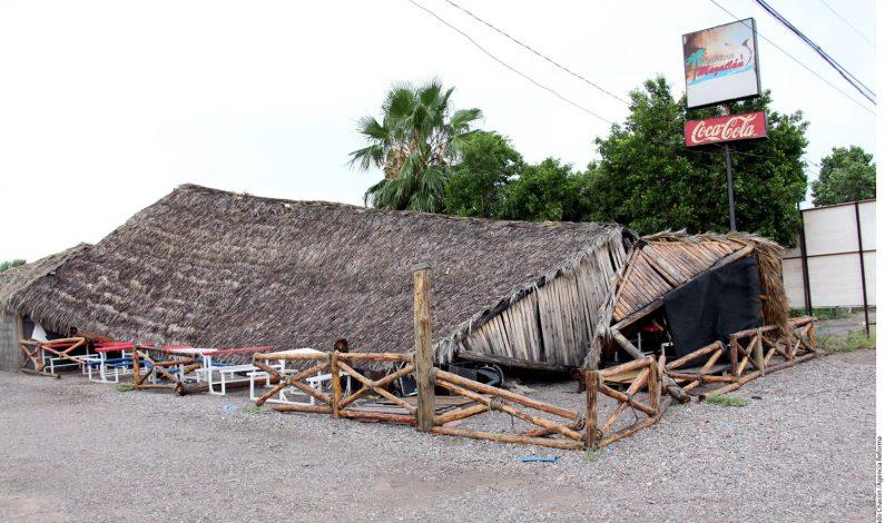 Tormenta afecta a Hermosillo