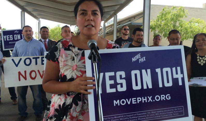 Propuesta 104 definirá el futuro del transporte público en Phoenix