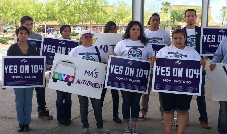Frente común en apoyo a Propuesta 104