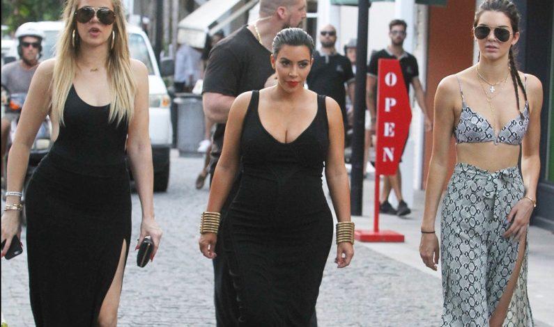 Las Kardashian vacacionan en el Caribe