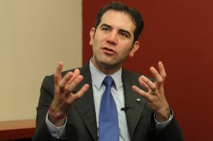 Lorenzo Córdova Vianello, presidente del Instituto Nacional Electoral (INE). Foto: Notimex