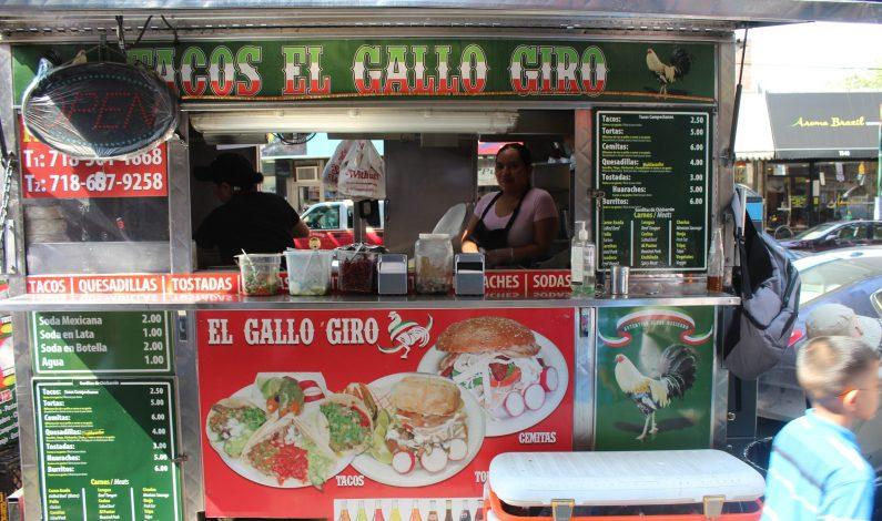 """Los """"taco trucks"""" conquistan las calles de Nueva York"""