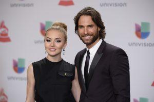 Angelique Boyer y Rullli, aún no están comprometidos. Foto: Cortesía Grammy Latino