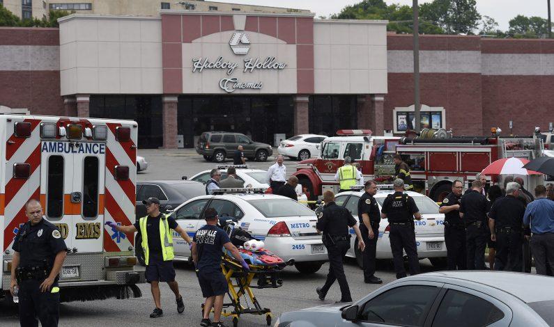 Acribillan a hombre tras tiroteo en cine de Tennessee