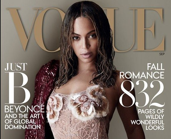 Beyoncé posa para laportadade Vogue