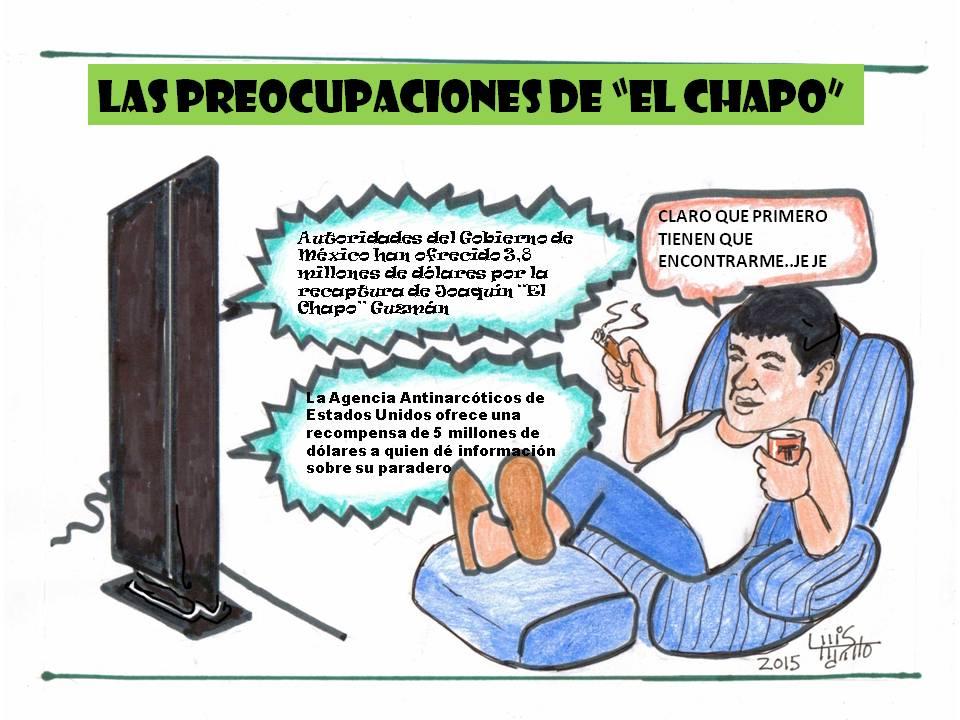 carichapoLAS PREOCUPACIONES DE EL CHAPO