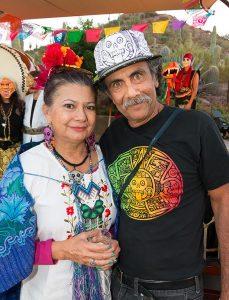 Carmen y Zarco Guerrero fundaron en 1996 la Cultural Coalition. Foto: Cortesía