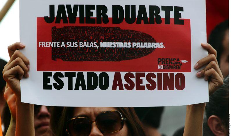 Tunden a Duarte por periodistas muertos