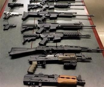 Incautan armas que iban a ingresar a México desde Arizona