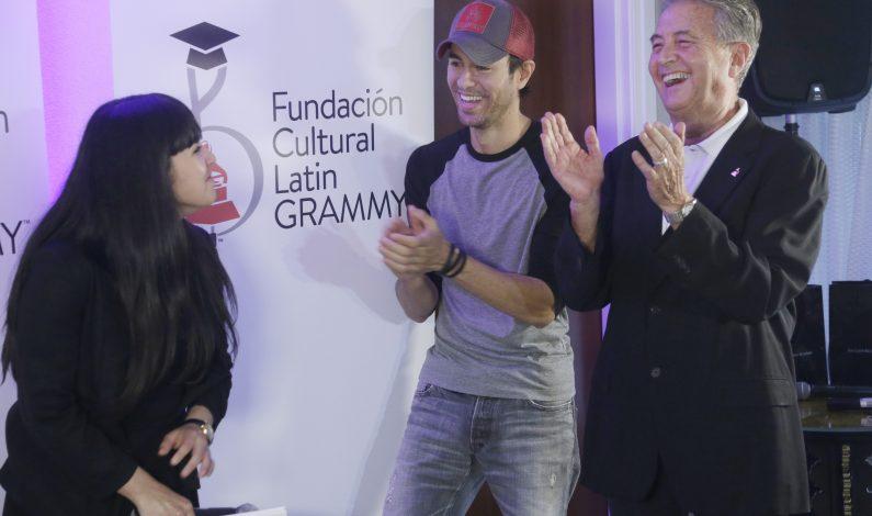 Latinos reciben becas de Fundación Cultural Latin Grammy