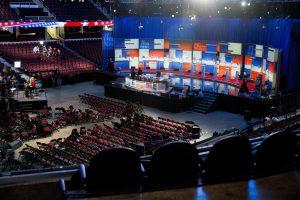 La Quicken Loans Arena de Cleveland, Ohio, será el escenario del debate republicano la noche del jueves. Foto: AP