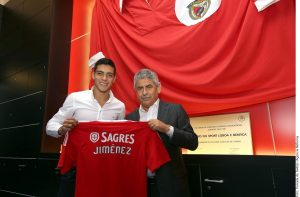 Raúl Jiménez busca triunfar ahora en la Liga de Portugal. Foto: Agencia Reforma