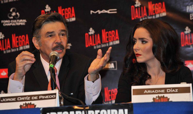"""Ariadne Díaz y Érick Hayser protagonizan """"La Dalia Negra"""""""