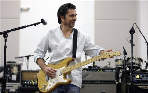 Juanes pone a cantar nueva canción a la ONU