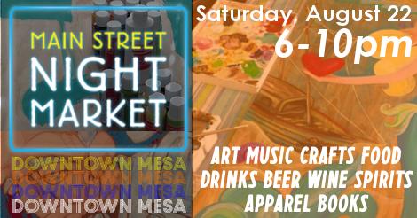 Arte, música y gastronomía en festival en Mesa