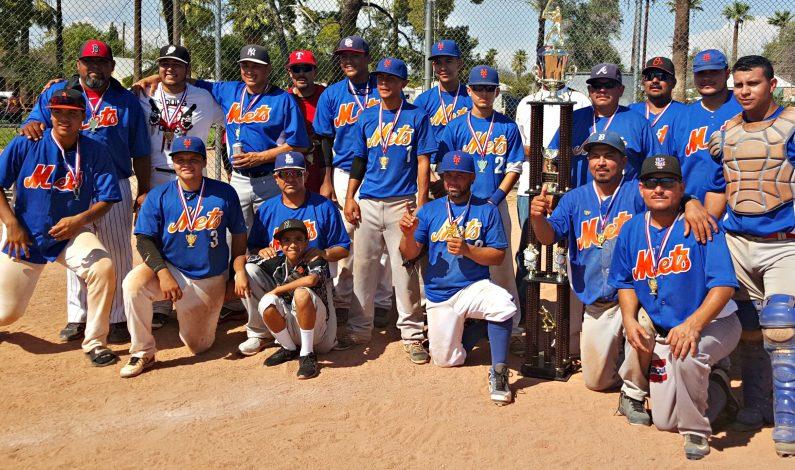 Mets se coronan campeones en la Nelson Barrera