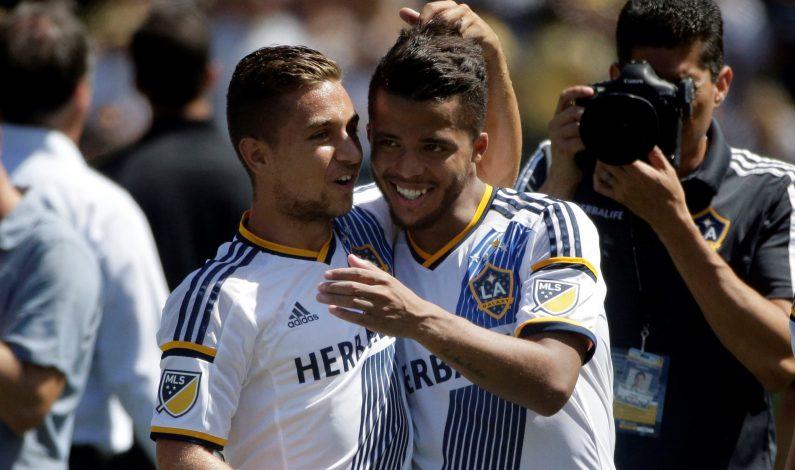 Debut goleador de Gio Dos Santos en la MLS